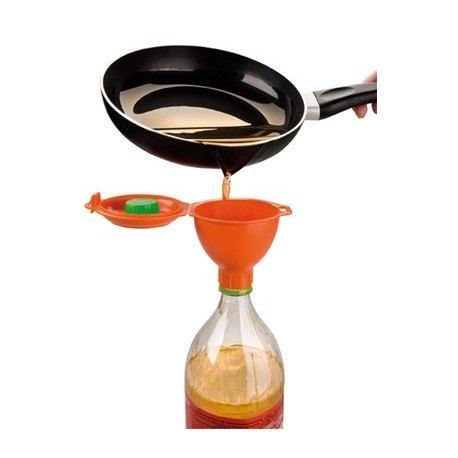 Embudo para reciclar aceite alambique for Reciclar aceite de cocina