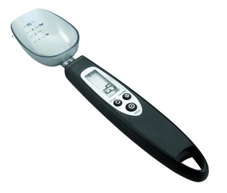 Bascula de precisi n en forma de cuchara alambique for Bascula de precision cocina