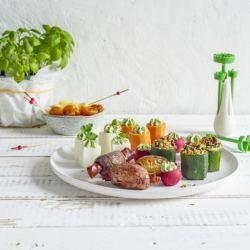 Cortador y Vaciador de Verduras y Frutas Betty Bossi