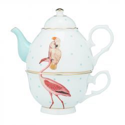 Tetera 'Tea for One' Porcelana Flamenco