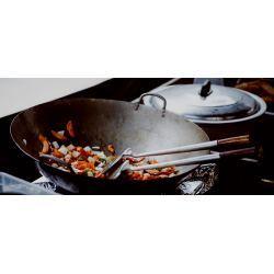 Taller de wok con visita al mercado