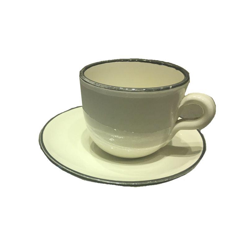 Taza Café Cerámica Blanca