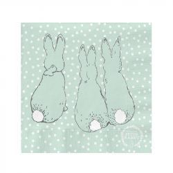 Servilletas de Papel Conejitos Peter Rabbit 33 cm