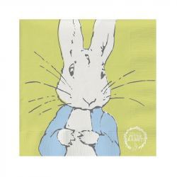 Servilletas de Papel Conejo Peter Rabbit 33cm
