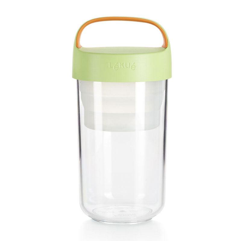 Jar to Go Lekué Verde 600 ml