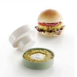 Veggie Burger Lekué Molde para Hamburguesas Rellenas