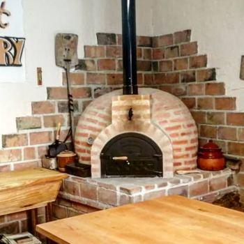 Pan en horno de leña y almuerzo en Palio