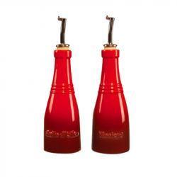 Aceitera y Vinagrera Le Creuset Cereza