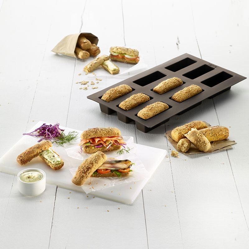 Molde para pan mini loaf lekue