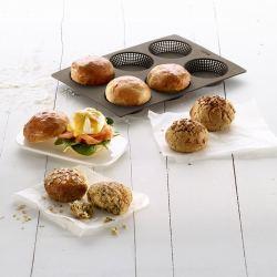 Molde para Panecillo o Mollete Bread Roll Lekue