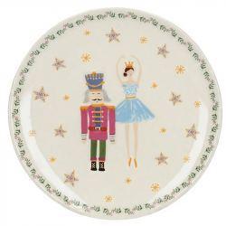 Plato Cascanueces y Bailarina