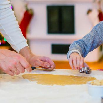 Repostería de Navidad padres e hijos