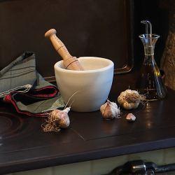 Kit Cocina Mediterránea II: Mortero y Aceitera