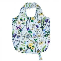 Bolsa Tela Plegable Flores