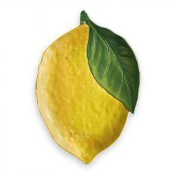 Fuente para Servir Forma Limón