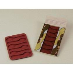 Molde de Silicona para Cucharas de Chocolate