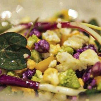 Alta cocina con verduras de temporada: las crucíferas