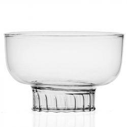 Plato de Cristal Pez 25 cm