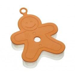 """Cortador Muñeco de Jengibre 3D """"Gingerbread Man"""""""