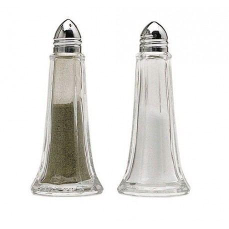 Salero y Pimentero 11,5cm Cristal
