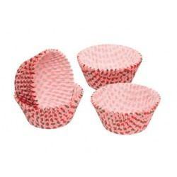 Cápsulas de Papel para Cupcake o Magdalena - Diseño Fresas 60uds