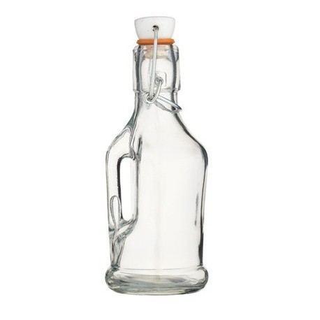 Botella Vidrio Tapa Cerámica - Dos Tamaños