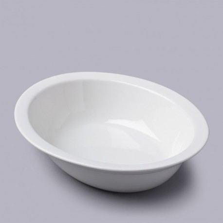 Fuente Oval con Borde de 33cm - Pie Dish
