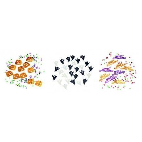 Confeti Halloween 3 diseños