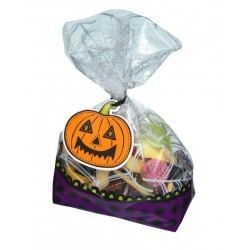 Bolsas con Invitación Halloween