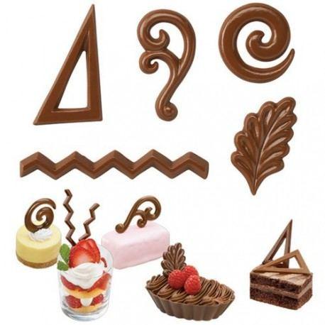 """Molde Candy Melts y Chocolate """"Acentos para postres"""""""