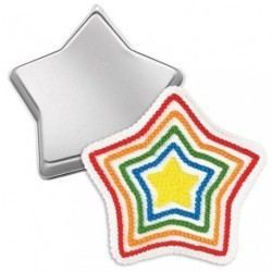 Molde Tarta Estrella