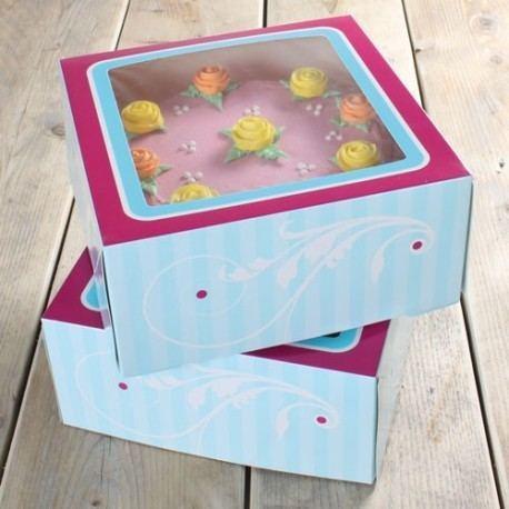 Caja Porta-Tartas
