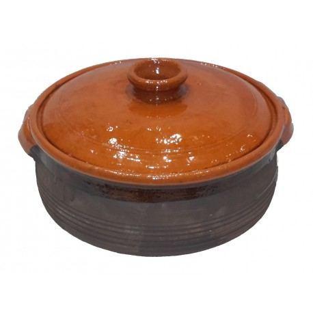 Pota de Barro con Tapa - Varios tamaños
