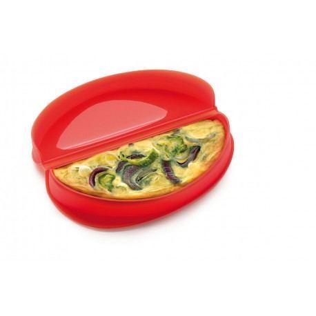 Molde de tortilla para microondas