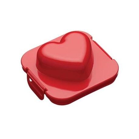 Molde de Huevo con Forma de Corazón