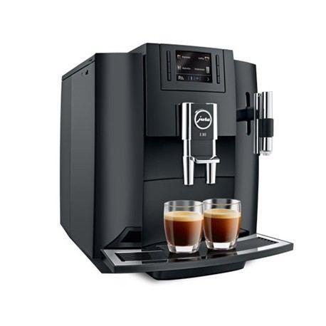 Cafetera Jura E80 Piano Black