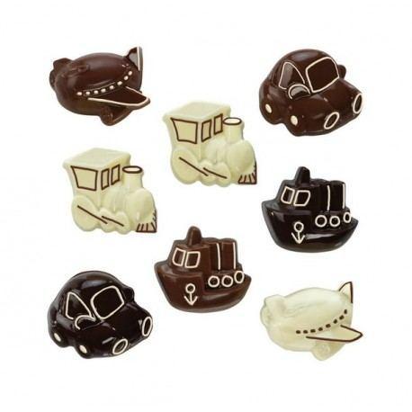 Set 2 Moldes para Chocolate - Diseños