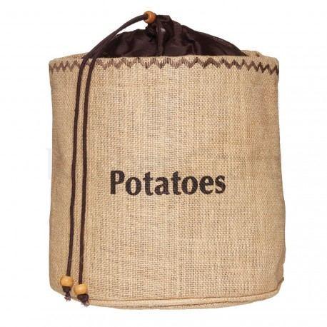 Bolsa de arpillera para patatas