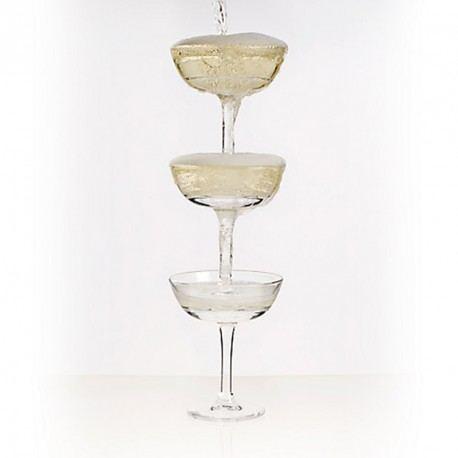 Copas de Champagne Apilables Coupe Stack