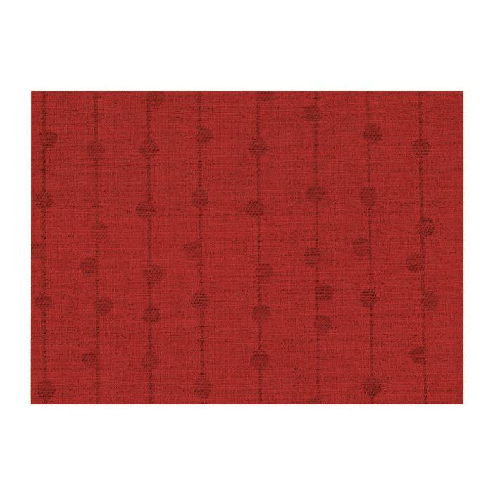 Mantel Individual Rojo Rectangular