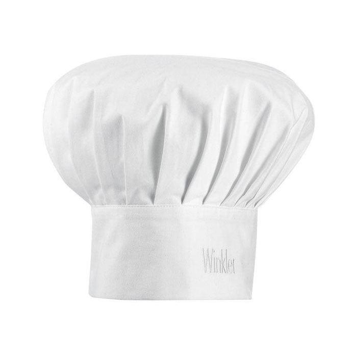 Gorro Cocinero Niño - Blanco