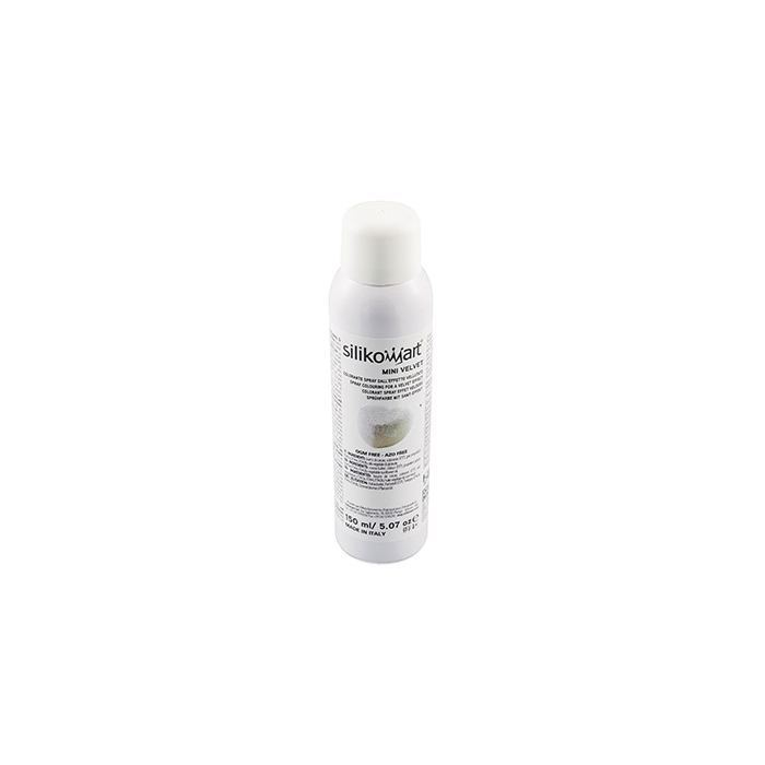 Spray Alimentario Efecto Terciopelo - Blanco