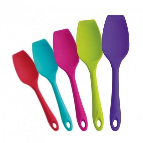 Cuchara Ergonómica de Silicona 26cm - Varios Colores