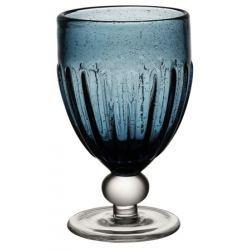 Copa de Cristal Saba Azul - Set de 6 Unidades