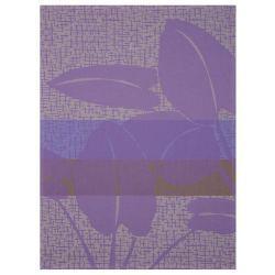 Paño de Cocina de Algodón - Urban Jungle Púrpura