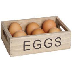 Bandeja de Madera para Huevos