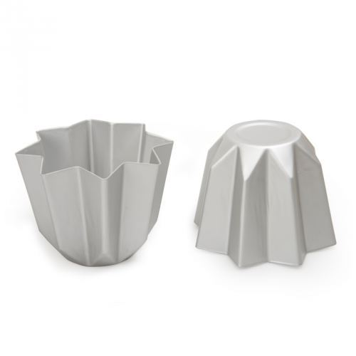 Molde en Aluminio Anodizado para Pandoro