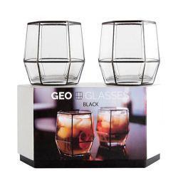 Vasos de Cóctel Geo Glass 2 Unidades