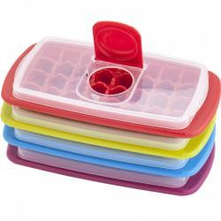 Cubitera de hielo con Tapa Anti Derrame