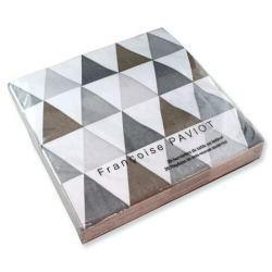 Servilletas de Papel con Triángulos